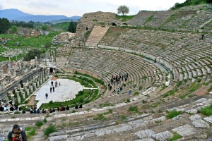 turquia,efeso ,teatro romano